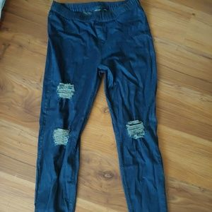 Simply Vera Wang pull on jeans L